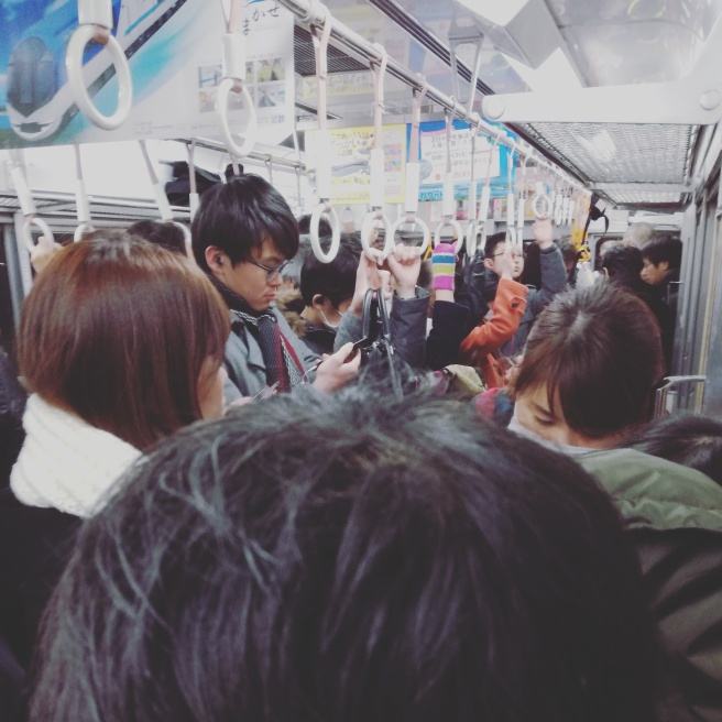 japan,train,crowded