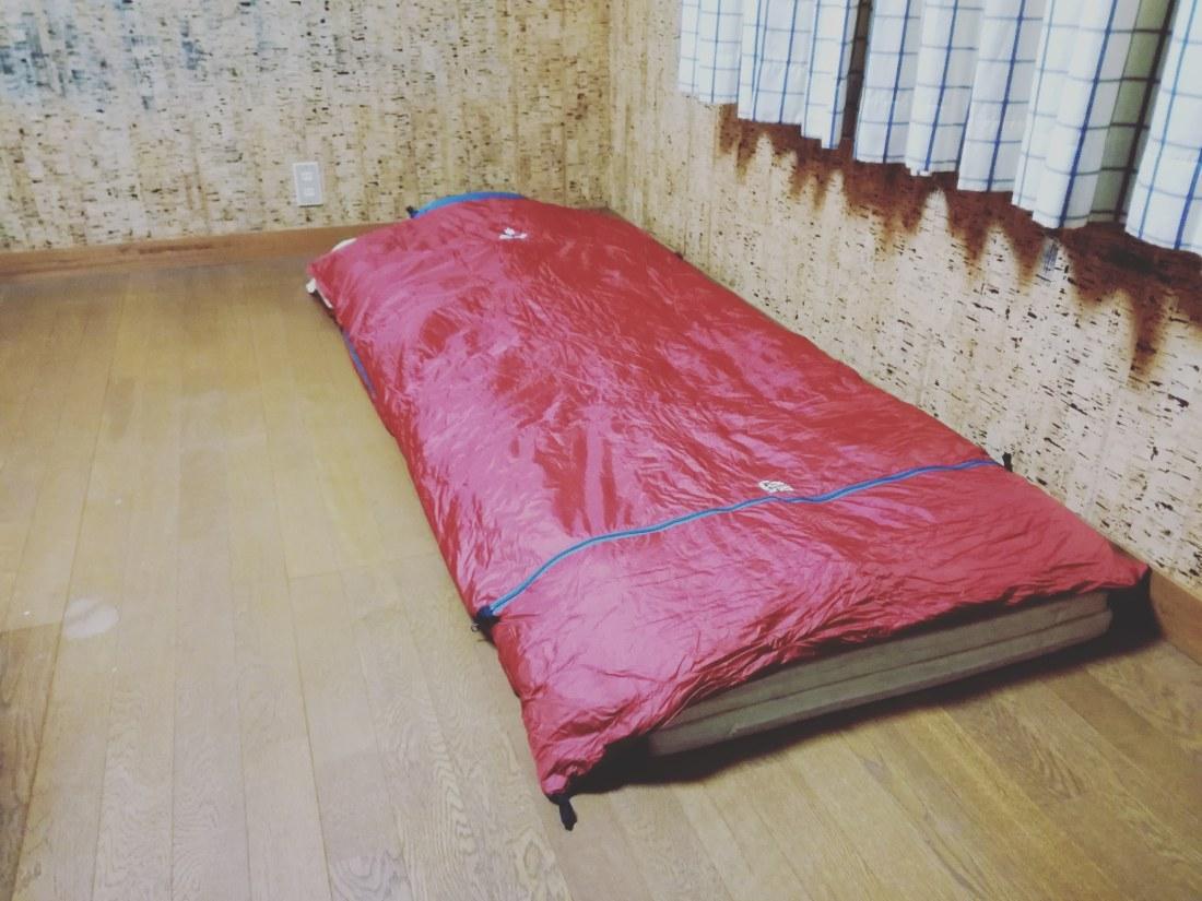 snowpeak sleeping bag