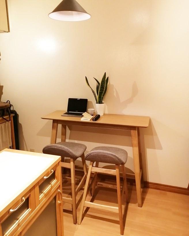 ニトリ カウンターテーブル